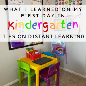 What I Learned In Kindergarten! Peoria